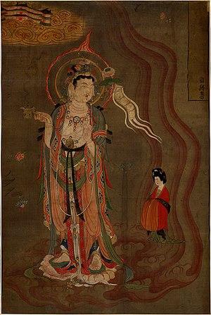 Tang dynasty art - Tang painting from Dunhuang