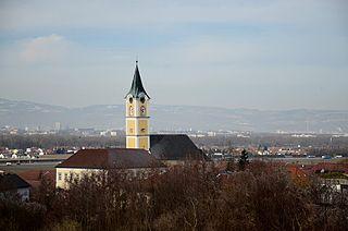 Ansfelden Place in Upper Austria, Austria