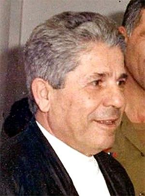 South Lebanon Army - Antoine Lahad in 1988.