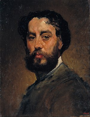 Antoni Caba - Self-portrait (c.1875-1880)