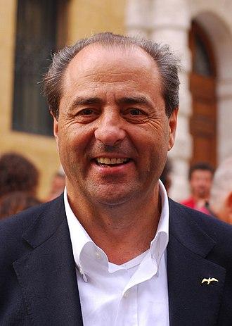 Italy of Values - Antonio Di Pietro in 2010.
