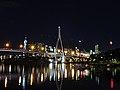 Anzac Bridge at night from Glebe Foreshore.jpg