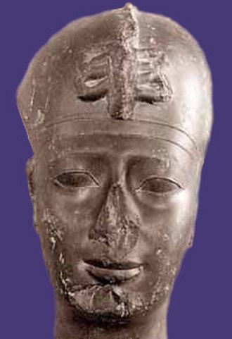 Apries - head of Apries, Louvre