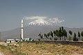 Ararat ze silnice k íránské hranici - panoramio.jpg