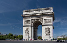 Arc de Triomphe, 2 August 2015 002.jpg