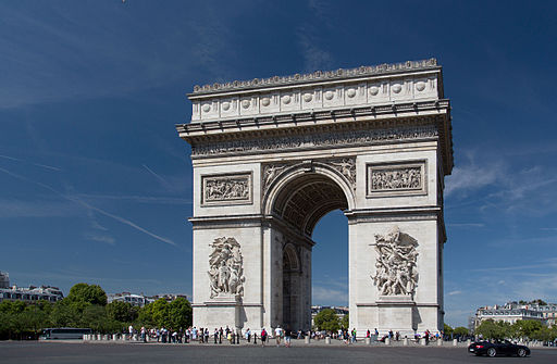 Arc de Triomphe, 2 August 2015 002