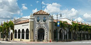 National Register of Historic Places listings in St. Lucie County, Florida - Image: Arcade Building Ft.Pierce