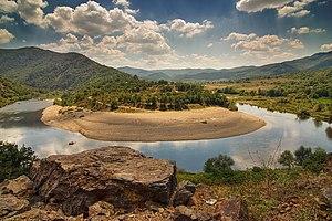 Arda (Maritsa) - Image: Arda Meanders