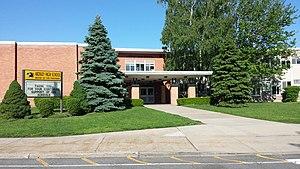 Ardsley High School - Ardsley High School front entrance