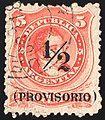 Argentina 1882 PROVISORIO Sc41 used.jpg