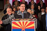 Arizona Governor Doug Ducey Speaks At Prescott Election Eve Rally (30848793277).jpg