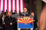 Arizona Governor Doug Ducey Speaks At Prescott Election Eve Rally (45738742792).jpg