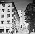 Arkkitehti Erik Bryggmanin suunnittelema, vuonna 1929 valmistunut Hospits Betelin hotellirakennus ja kellotorni Turussa - HK19670603-32732 (musketti.M012-HK19670603-32732).jpg