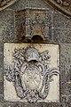 Armes du portail de l'église Saint-Golven (Taupon, Morbihan, France).jpg