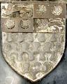 Arms MerchantAdventurersCompany 1529MonumentalBrass JohnGreenway GreenwayChapel TivertonChurch Devon.PNG