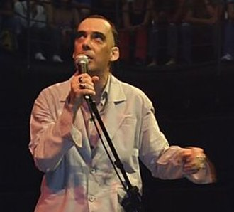 Arnaldo Antunes - Antunes at the São Paulo Cultural Center in São Paulo 2007.