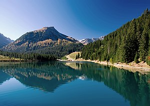 Plessur Alps - Image: Arosa