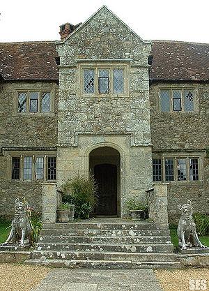 Grade II* listed buildings on the Isle of Wight - Image: Arreton Manor