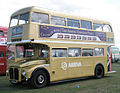 Arriva Heritage Fleet Routemaster bus RM6 (VLT 6), 2009 Gosport bus rally (2).jpg