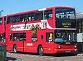 Arriva London North bus Volvo B7TL Transbus ALX400, Turnpike Lane bus station, route 123, 26 June 2011.jpg