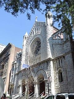 Church of the Ascension, Roman Catholic (Manhattan) Church in New York, USA