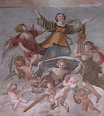 Saint Cecilia in Glory