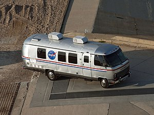 Astronaut transfer van - Shuttle era Astrovan at Launch Pad 39A