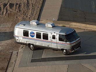 Astronaut transfer van - Shuttle-era Astrovan at Launch Pad 39A