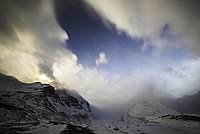 Athabasca Glacier and Mt. Athabasca in the Moonlight.jpg