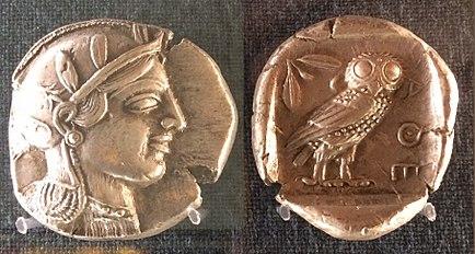Athens tetradrachm