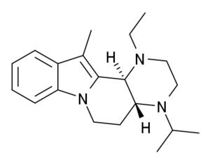 Atiprosin - Image: Atiprosin structure