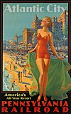 Boardwalk, travel poster 1936