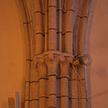 Auderville Parish Church Saint Gilles Choir North Wall Middle Capitals of Middle Pillar 2010 08 30.jpg