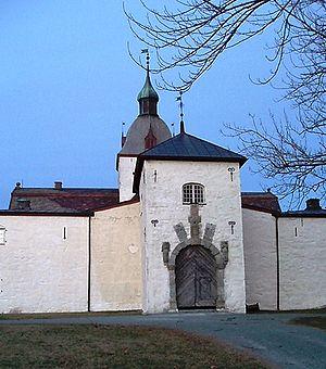 Inger Ottesdotter Rømer - Manor of Austrått built 1656 in Ørland, Norway