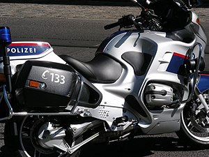Federal Police (Austria) - Austrian Police motorcycle