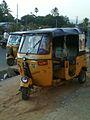 Auto rickshaws at Madhurawada 02.jpg