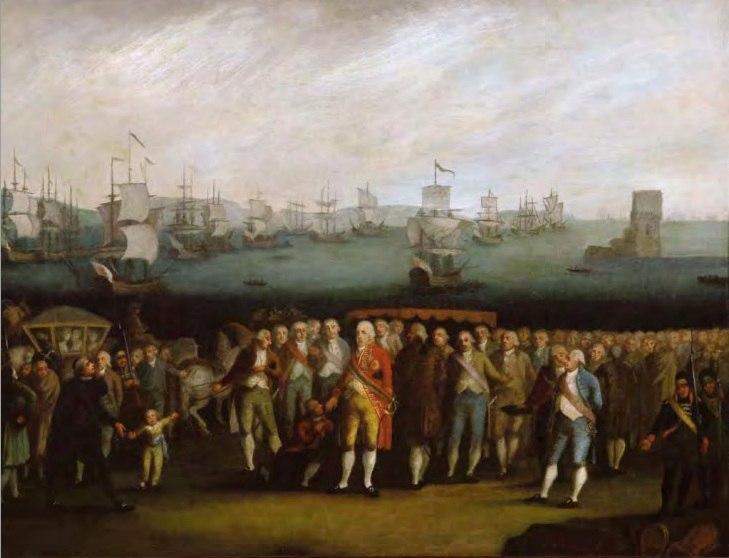 Autor não identificado - Embarque da Família Real Portuguesa