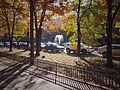 Autumn on Union Blvd, Bucharest (30597984782).jpg