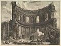 Avanzi del Tempio detto di Apollo nella Villa Adriana vicino a Tivoli (Hadrian's Villa. Remains of the Smaller Palace -Formerly called the Temple of Apollo-) MET DP828233.jpg