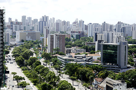 Recife, the biggest city of the state Avenida Agamenon Magalhaes Recife.jpg