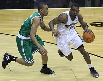 Avery Bradley - Bradley defending Jordan Crawford in 2011.