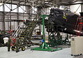 Avro Lancaster 'Thumper' Mk III undergoing maintenance workin the BBMF hangar at RAF Coningsby. MOD 45158868.jpg