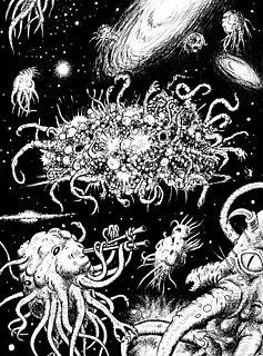Azathoth Outer God in the Cthulhu Mythos
