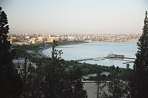 Baku bid for the 2016 Summer Olympics - View of Baku