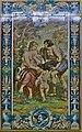 Azulejo de Apolo y Calisto (Manuel Arellano y Campos).jpg