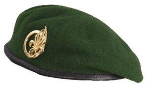 Le béret dans l'armée 300px-B%C3%A9ret_vert_de_la_L%C3%A9gion_%C3%A9trang%C3%A8re