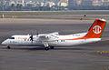 B-15217 DHC-8-314 Uni Air (8396694609).jpg