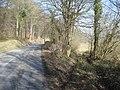 B4362 at the foot of Nash Wood - 1 - geograph.org.uk - 901946.jpg
