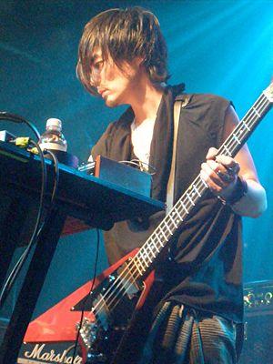 Boom Boom Satellites - Masayuki Nakano performing at Irving Plaza.