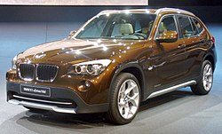 bmw x1 wikipedie. Black Bedroom Furniture Sets. Home Design Ideas
